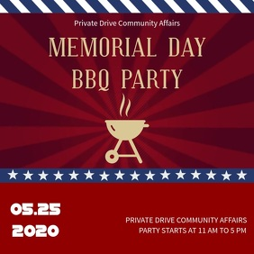 Memorial Day BBQ Instagram Video Template