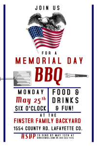 memorial day poster templates postermywall