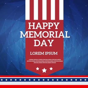 MEMORIAL DAY CARD SOCIAL MEDIA TEMPLATE