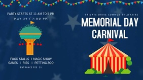Memorial Day Carnival Video Template