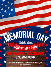 Customizable Design Templates for Memorial Day Flyer | PosterMyWall