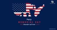 Memorial Day Iklan Facebook template