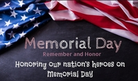 Memorial Day Tag template