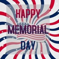 Memorial Day Logo template