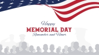 Memorial Day Pos Twitter template