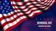 MEMORIAL DAY Digital Display (16:9) template