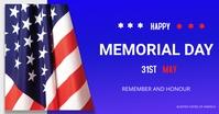 Memorial Day Gambar Bersama Facebook template
