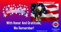 Memorial Day FB 2021 Iklan Facebook template