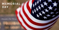MEMORIAL DAY FB Facebook Event Cover template