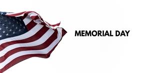 MEMORIAL DAY - FB Couverture d'événement Facebook template