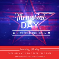 Memorial Day Festival Instagram Video Templat