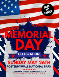 Memorial Day Poster Templates | PosterMyWall