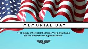 Memorial Day Greeting Video Template