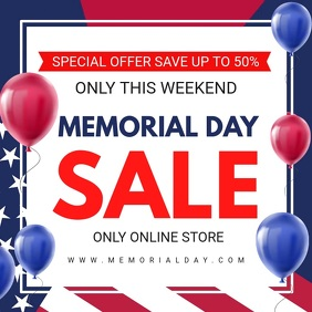 Memorial Day Online Sale Video Ad