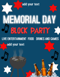 MEMORIAL DAY PARTY EVENT BLOCK PARTY