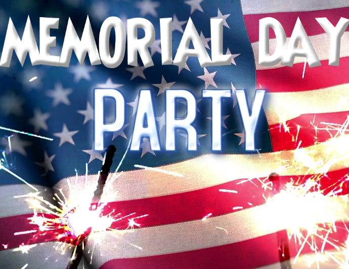 Memorial Day Party Memorial Day Bbq Memorial Day Template Postermywall