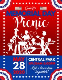 Memorial Day Picnic Flyer