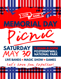 free memorial day flyer templates