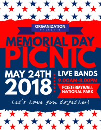 Memorial Day Picnic Flyer