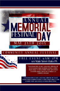 customizable design templates for memorial day sale postermywall