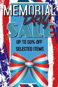 Memorial Day Retail Poster