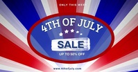 memorial day sale banner auf Facebook geteiltes Bild template