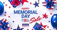 Memorial Day Sale Iklan Facebook template