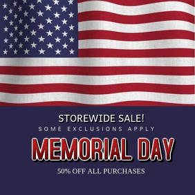 Memorial Day Sale Instagram Video Template