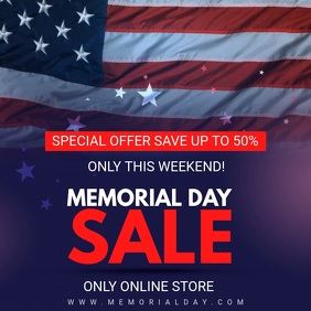 Memorial Day Sale Online Video Ad