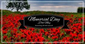 Memorial Day Social Media Template