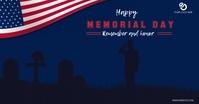 memorial day template Facebook Ad