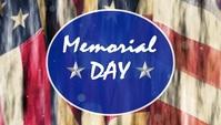 Memorial Day Template Header Blog