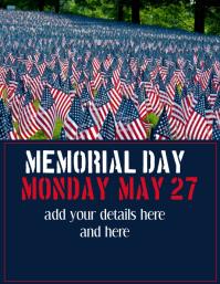 Memorial Day Template