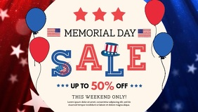 Memorial Day US Sale Ad Video