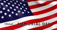 Memorial Day video Facebook Event Cover template