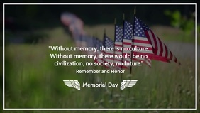 Memorial Day Video Template