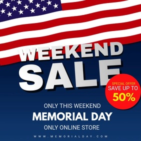 Memorial Day Weekend Sale Video Ad