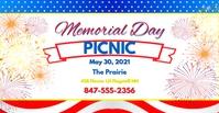 Memorial DayFB 2 Facebook-Veranstaltungscover template