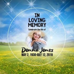 memorial in loving memory instagram