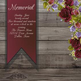 memorial instagram sign