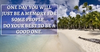 MEMORY AND BEST QUOTE TEMPLATE Facebook Event Cover