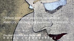 Memory R.I.P In Coronavirus Spread Template Facebook Cover Video (16:9)