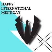 Men's day Pos Instagram template