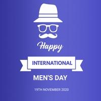 Men's Day Instagram Post template
