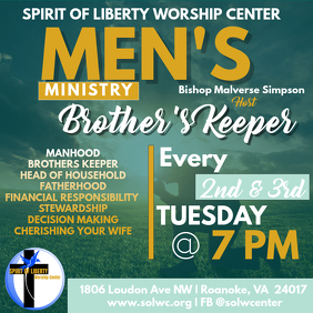 Men's Fellowship Bible Study