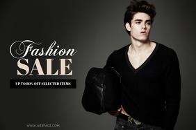 Men Fashion Sale Flyer Template