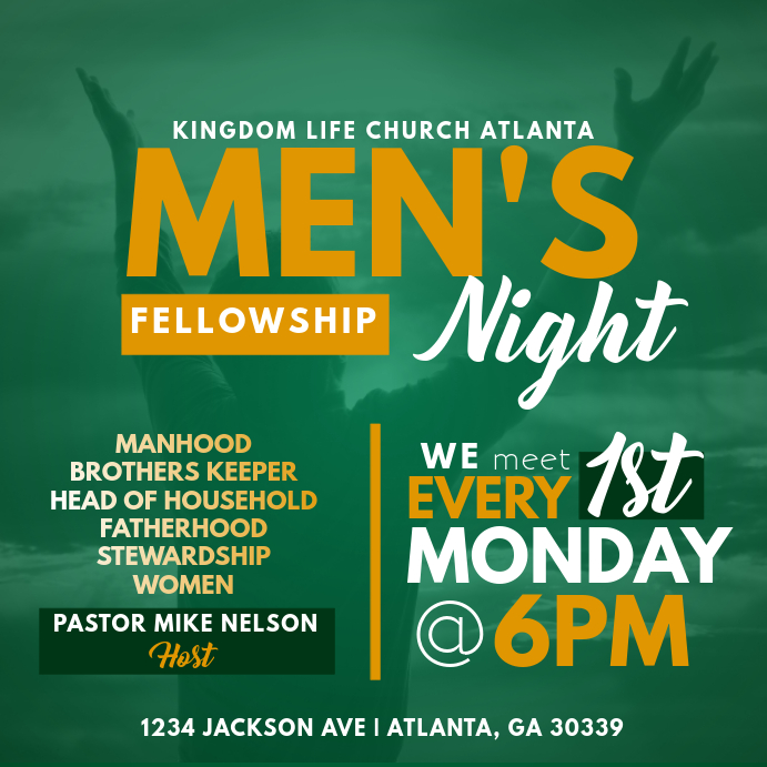 Men's Fellowship Night