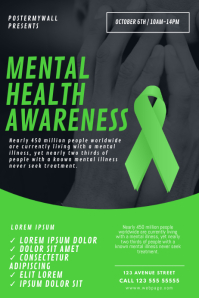 Mental Health Awareness Flyer Template