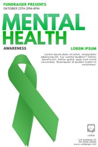 Mental Health Awareness Flyer Template