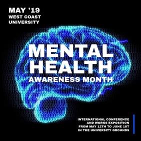 Mental Health Awareness Month Flyer